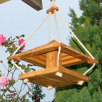 Pyramid Bird Feeder