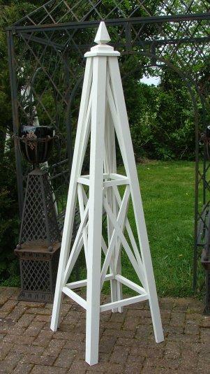Wooden Garden Obelisks The Bolas The Lichfield Planter