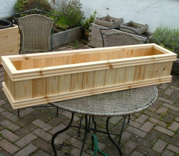Connaught Wooden Window Box