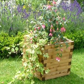 Cube-Garden-Planter-Brown
