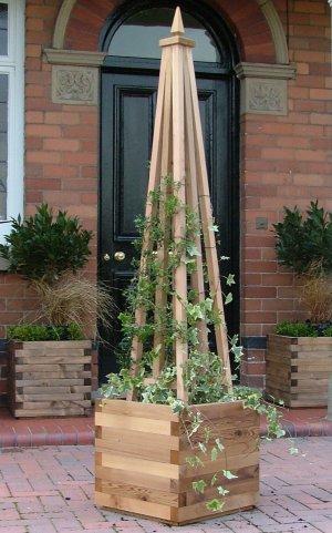 York Cedar Garden Obelisk
