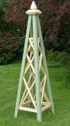 Gibbs- Wooden Garden Obelisk - Coloured