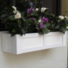 Wooden window boxes