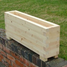 Trough Planters The Oli Wooden Planter The Lichfield