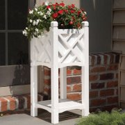 Oxford wooden garden planters
