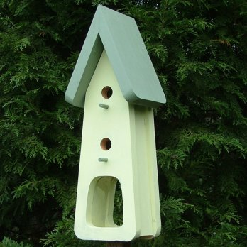 Shropshire Double Nesting Box and Feeder
