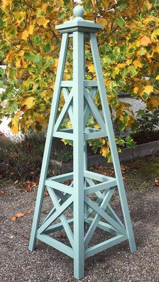 the chippenham wooden garden obelisk the lichfield. Black Bedroom Furniture Sets. Home Design Ideas