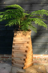 Tudor Twist Wooden Garden Planter