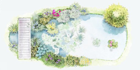 How to introduce water to your garden articles page 2 for Minimum depth for koi pond